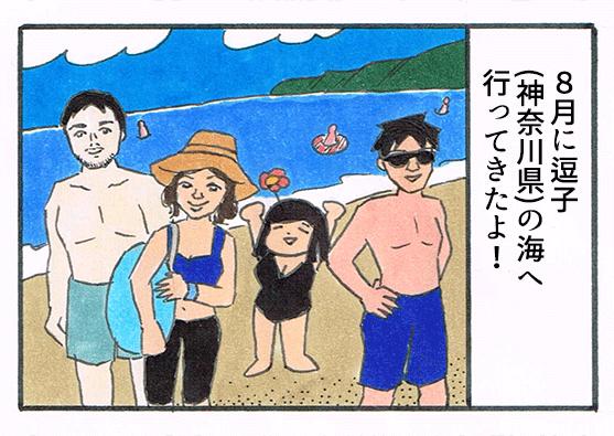 海へ行ってきたよ
