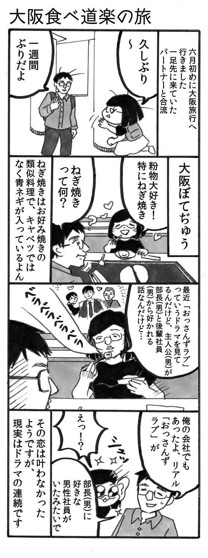 大阪食べ道楽の旅