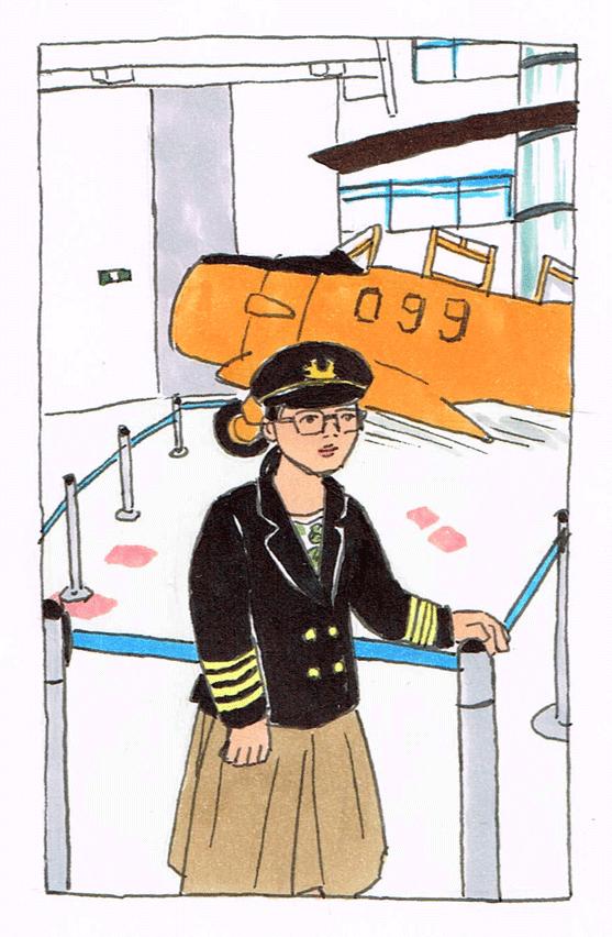 所沢航空発祥記念館イラスト