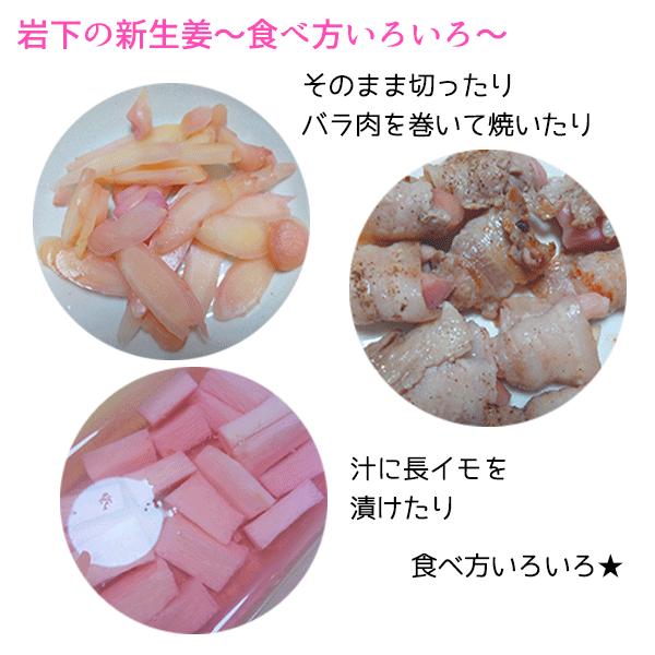 岩下の新生姜 食べ方いろいろ