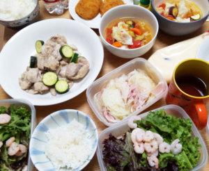 所沢野菜を使った料理