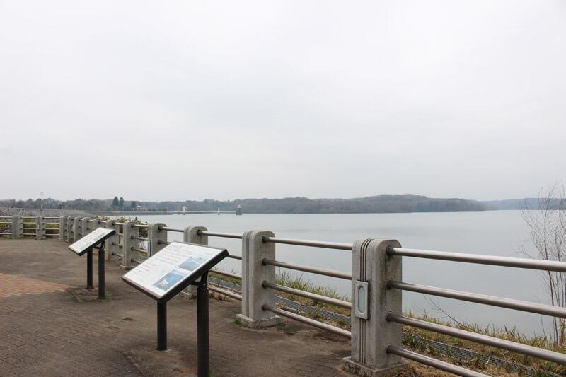 狭山湖、山口貯水池