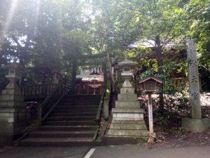鳩峯公園近くにある水天宮