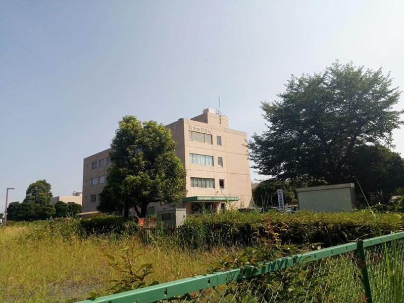 ハローワーク所沢(航空公園駅から徒歩10分)外観